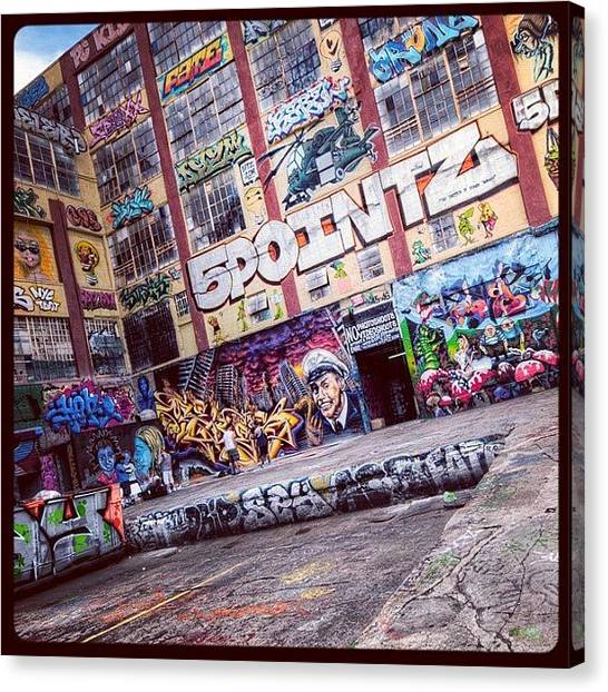 German Canvas Print - 5 Pointz by Randy Lemoine