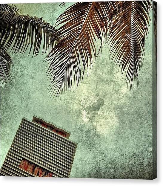 Miami Canvas Print - 50 Biscayne - Miami by Joel Lopez