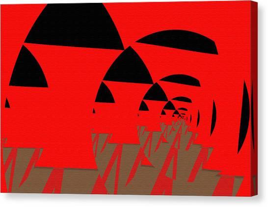 Decoupage Canvas Print by Mihaela Stancu