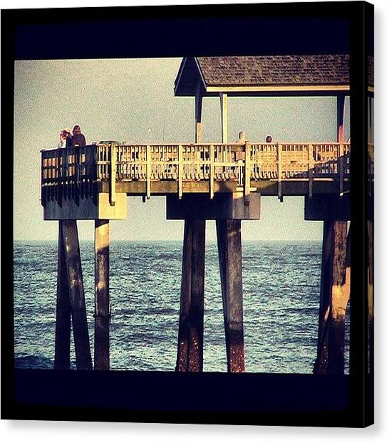 Fishing Canvas Print - Instagram Photo by  Abril Andrade Griffith
