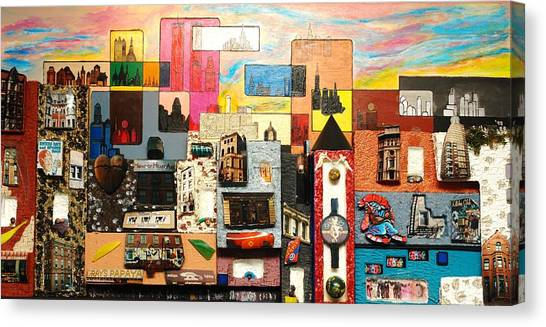 57th Street Kaleidescope Canvas Print