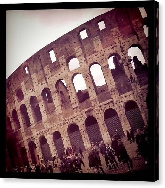 Rome Canvas Print - Instagram Photo by Joa Rodríguez