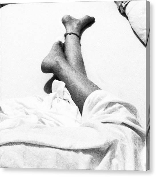 Legs Canvas Print - לילה טוב!! by Merav Henig