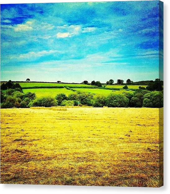United Kingdom Canvas Print - Image Created With #snapseed by Fay Pead