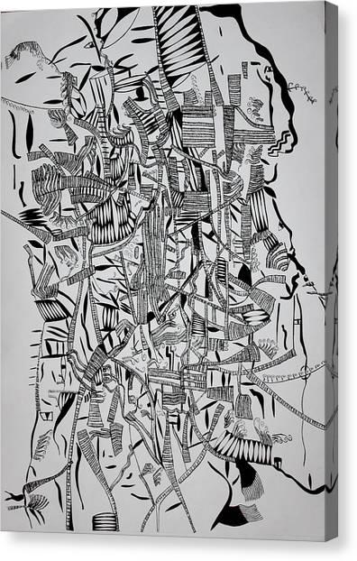 Gloria Canvas Print - Kintu And Nambi by Gloria Ssali