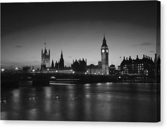 London  Skyline Big Ben Canvas Print
