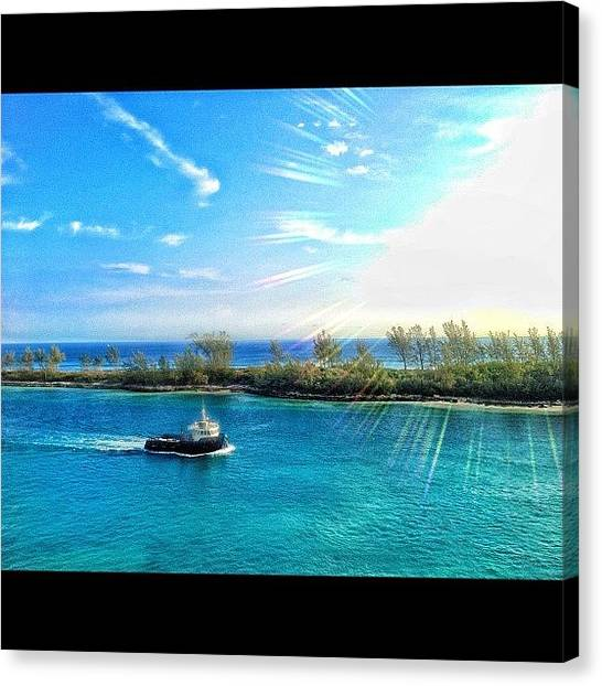 Bahamas Canvas Print - Instagram Photo by Matt Turner