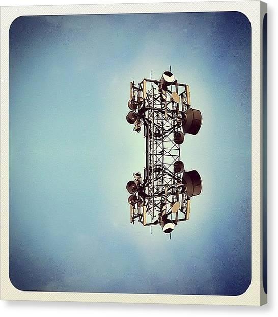 Symmetrical Canvas Print - Instagram Photo by James Peto