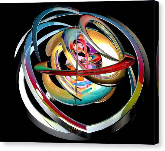 Abstract Shape Canvas Print