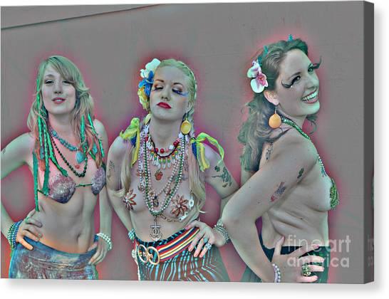 Mermaid Parade 2011 Coney Island Canvas Print