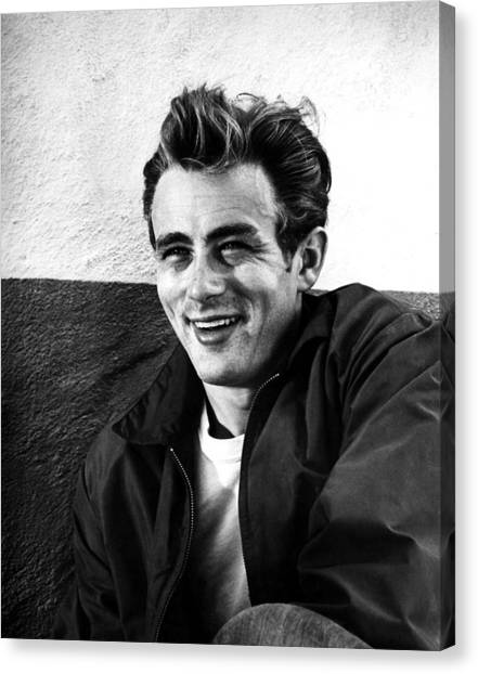 Films By Nicholas Ray Canvas Print - Rebel Without A Cause, James Dean, 1955 by Everett