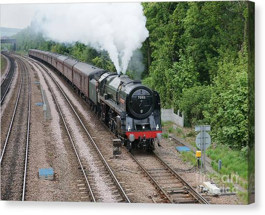70013 Oliver Cromwell Canvas Print