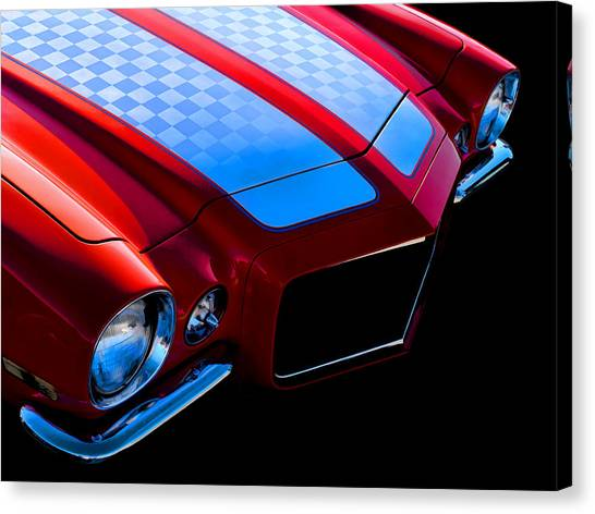Muscles Canvas Print - '71 Camaro by Douglas Pittman