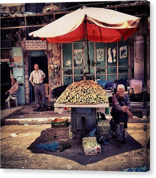 Palestinian Canvas Print - #tweegram #instagood #iphonesia by Thomas Johansen