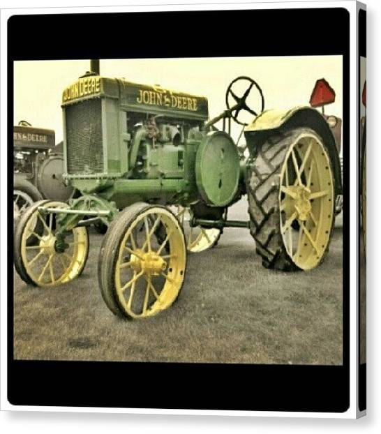 Tractors Canvas Print - Instagram Photo by Bryan P