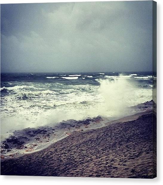 Hurricanes Canvas Print - Instagram Photo by Kyle Kazoo