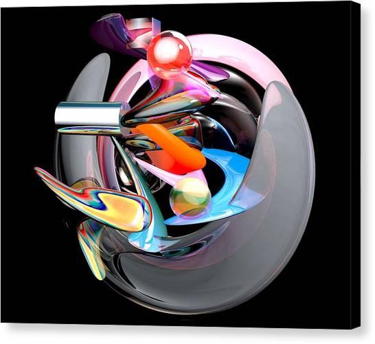 Abstract Shape Canvas Print by Bogdan Floridana Oana