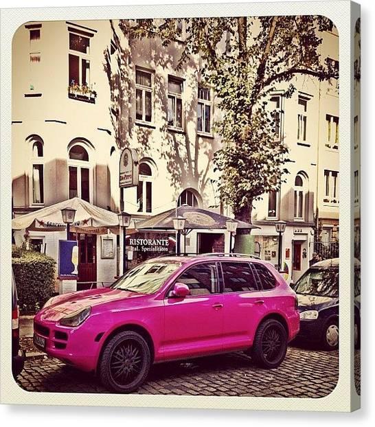 Porsche Canvas Print - #all_shots #best_shots #contestgram by Ute Dominikat