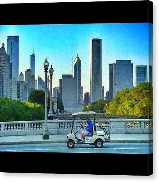 Indians Canvas Print - #chicago #chitown #windycity by James Roach