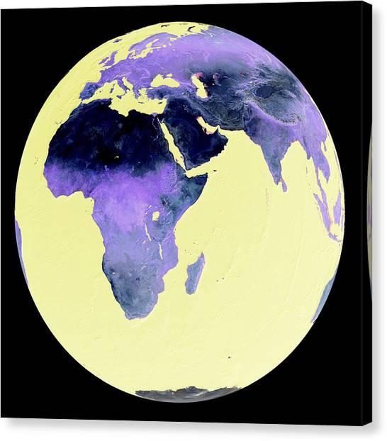 Antarctic Desert Canvas Print - Earth by Friedrich Saurer