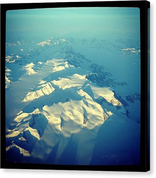 Flying Canvas Print - Instagram Photo by Tony Benecke