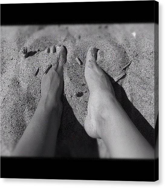 Feet Canvas Print - Instagram Photo by Andrea Romero