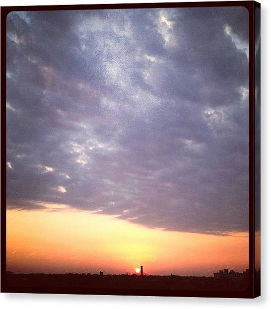 University Of Illinois Canvas Print - Instagram Photo by Chuck Oliva