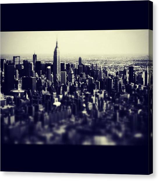Skyscrapers Canvas Print - Instagram Photo by Ritchie Garrod