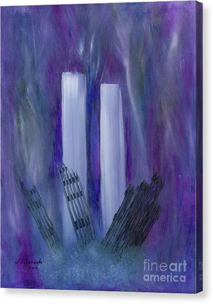 9-11 Remembering Canvas Print