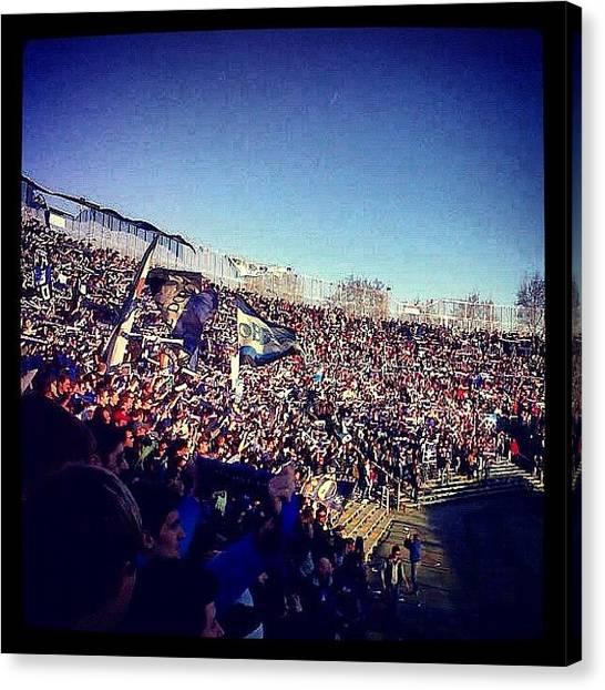 Stadiums Canvas Print - Instagram Photo by Matteo Zanetti