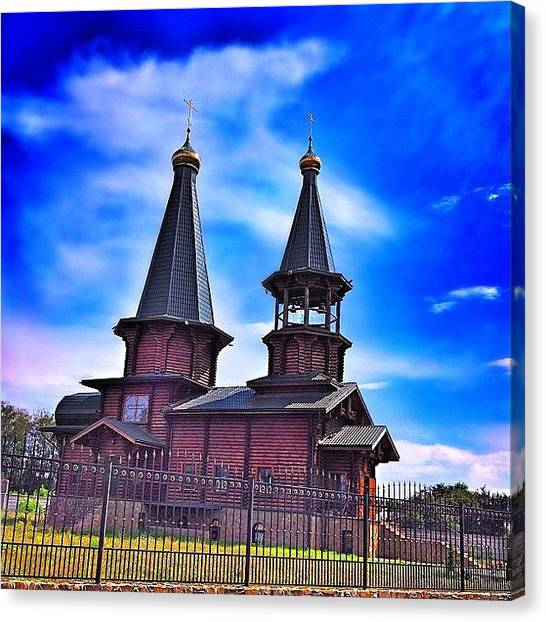 Russia Canvas Print - Instagram Photo by Vitaly Russia