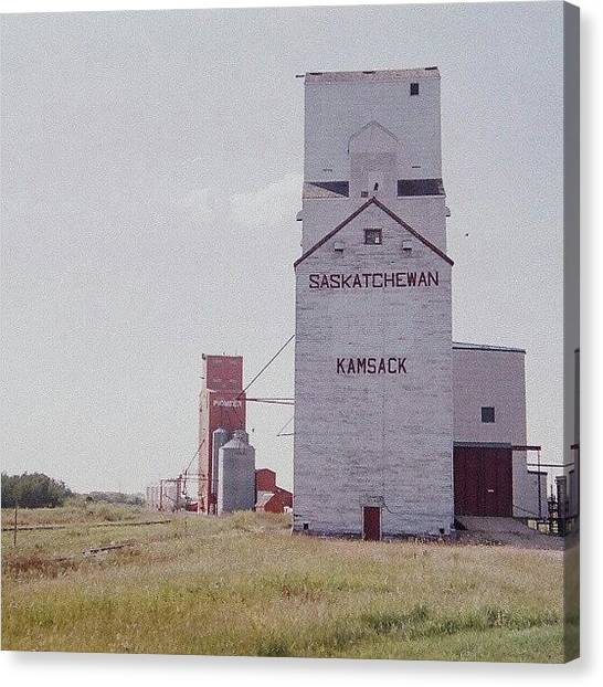 Saskatchewan Canvas Print - A #35mm Version Of A #photo I Shared by Michael Squier