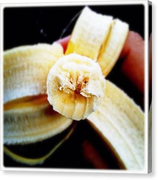 Bananas Canvas Print - A Bannana #fcnphoto #banana #bannana by Luke Fuda