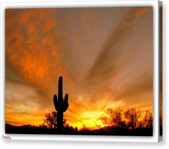 A Beautiful Start To The Day Canvas Print