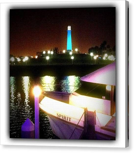Yachts Canvas Print - A #bittersweet #night At by Debi Tenney