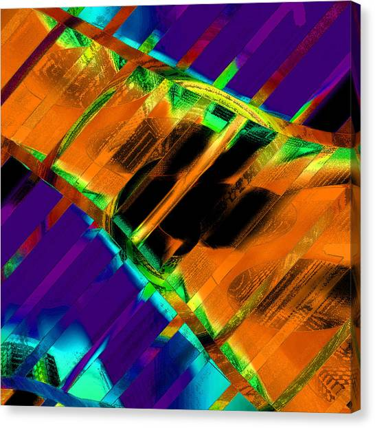 A Bridge Over Troubled Waters Canvas Print