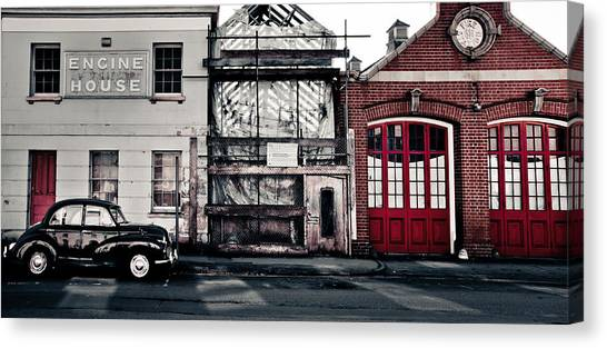 A Classic Fire Canvas Print