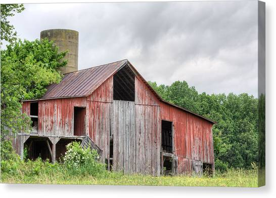 A Cloudy Day Canvas Print by JC Findley
