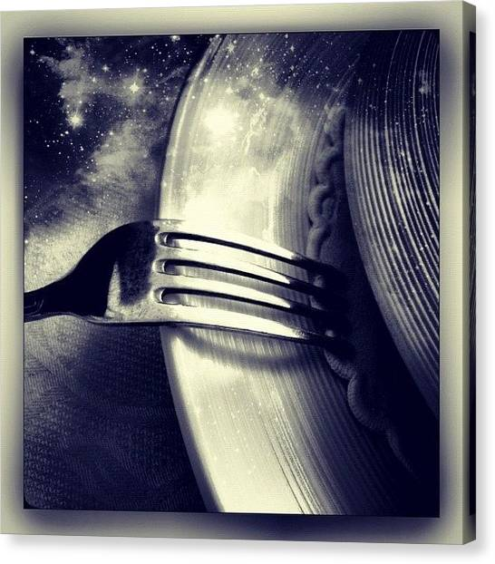 Italy Canvas Print - A Cosmic Italian Meal by Paul Cutright