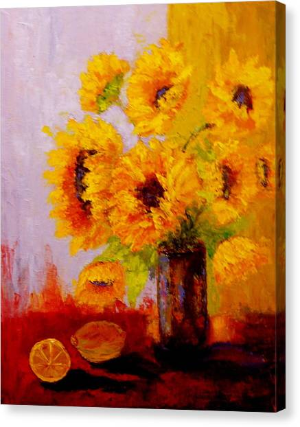 A Day Of Sushine Canvas Print
