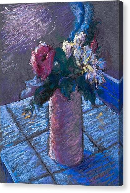 A Gift Of Peonies Canvas Print