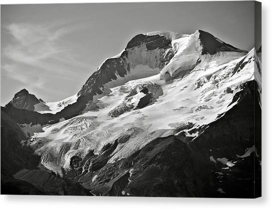 A Glacier In Jasper National Park Canvas Print