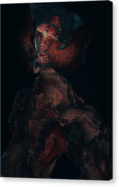 A Haunting Betrayal Canvas Print