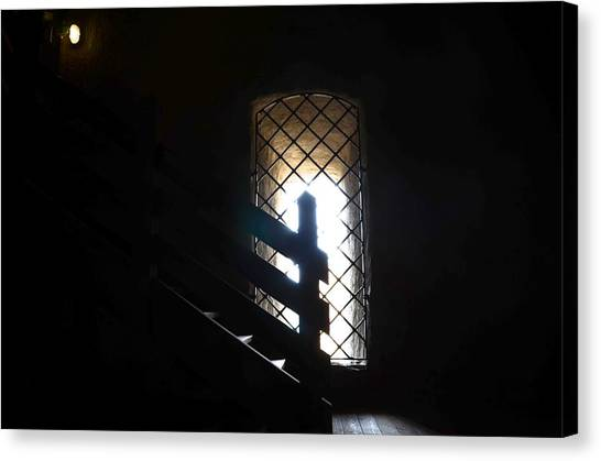 A Light In The Darkness Canvas Print