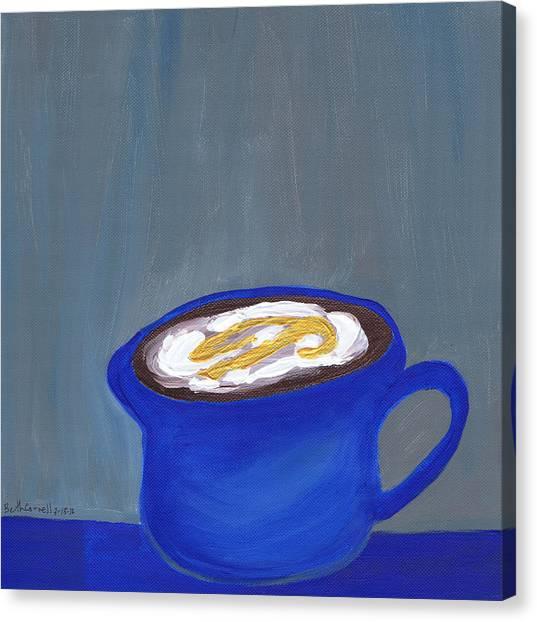 A Little Blue Canvas Print