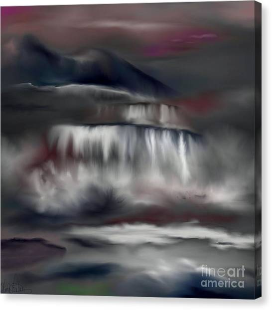 A Midnights Dream Canvas Print