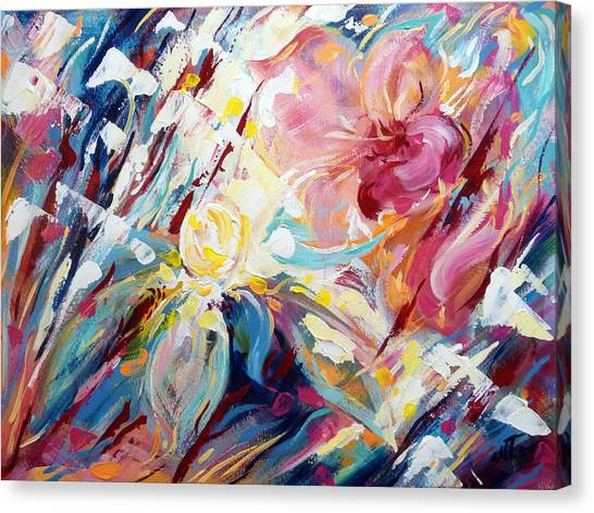 A Passion Of Flowers Canvas Print