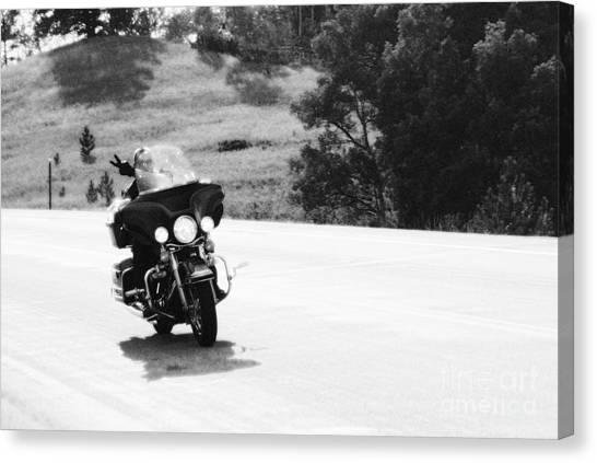 A Peaceful Ride Canvas Print