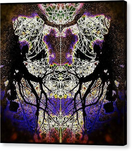 Bears Canvas Print - A Sad Angel Bear by Beatrice Looi