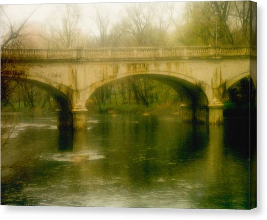 A Spring Bridge Canvas Print